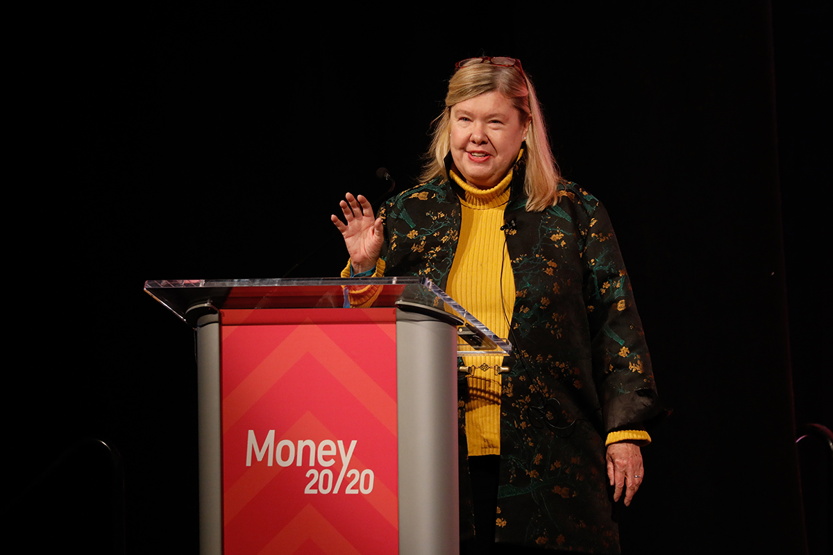 The Money 20/20 conference on Sunday, October 21, 2018 in Las Vegas, Nevada, USA.