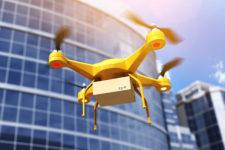 В США официально разрешили доставку дронами