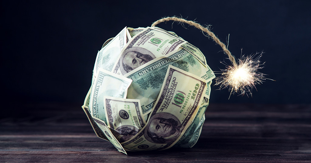 Bloomberg назвал ТОП-5 предпосылок нового финансового кризиса