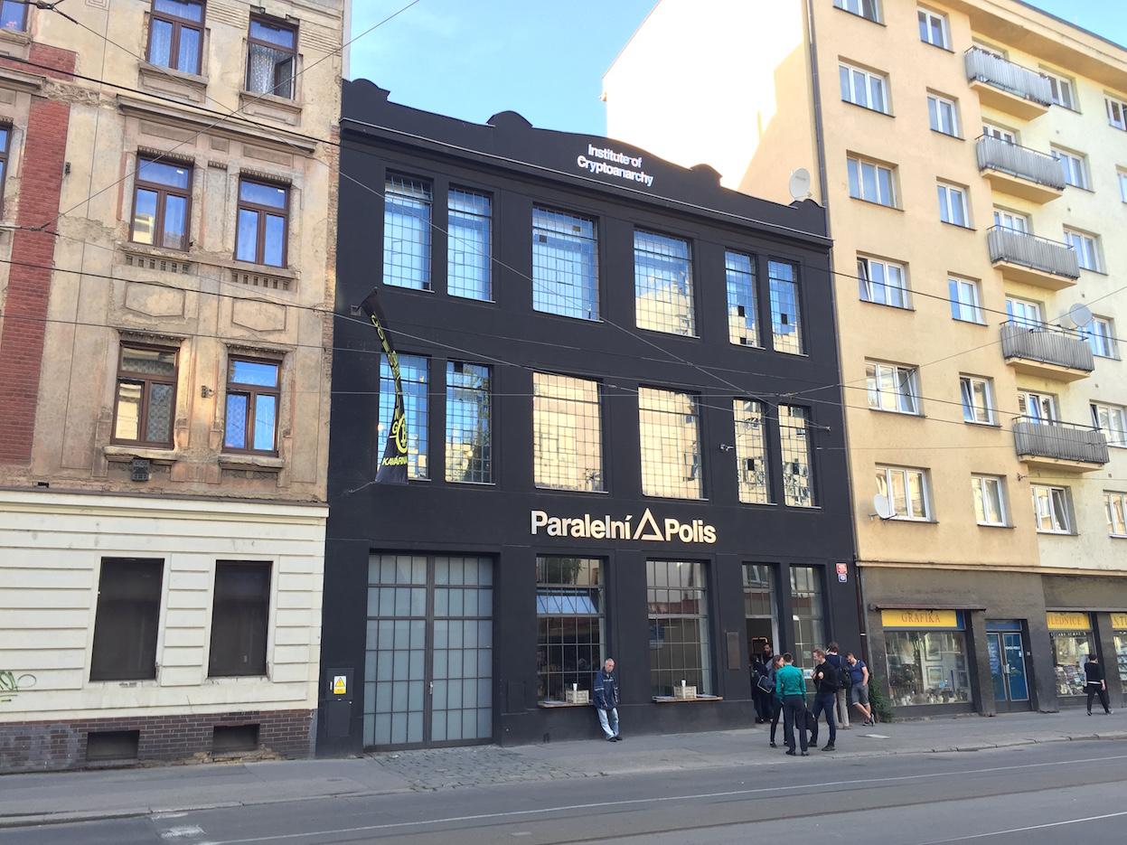 биткоин кафе в Праге