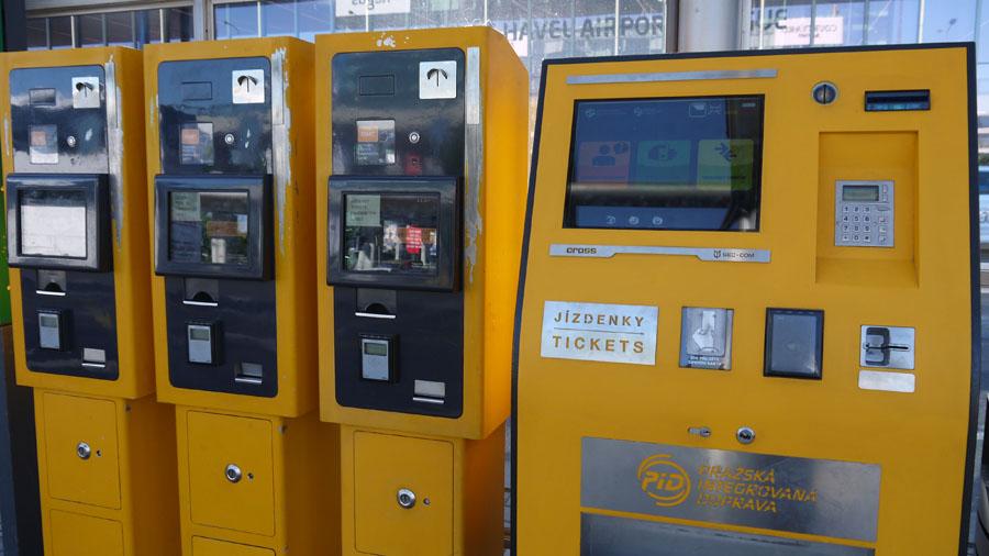 Оплата проезда в Праге