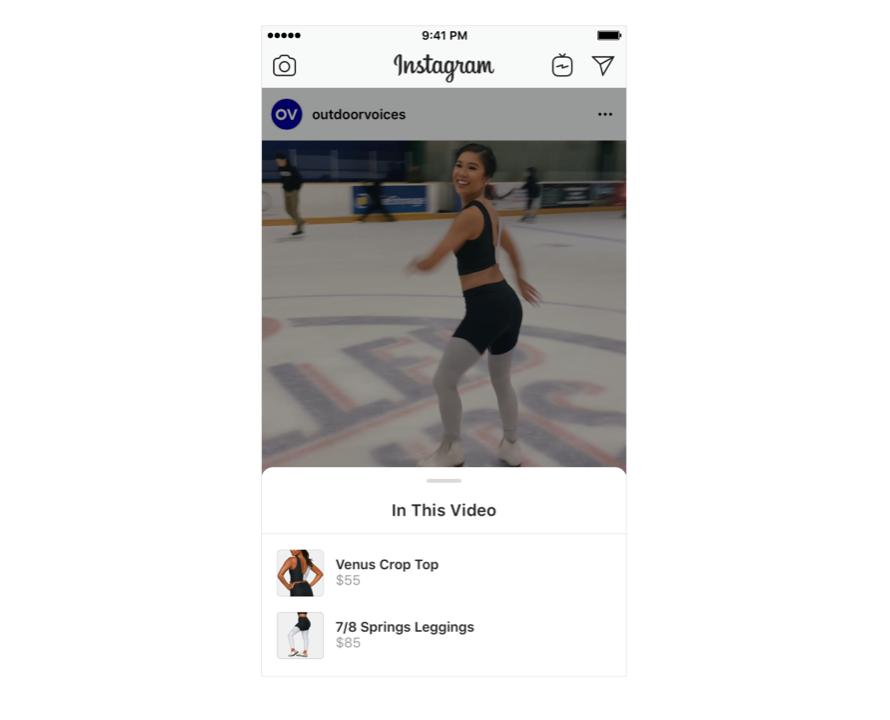 покупки в Instagram