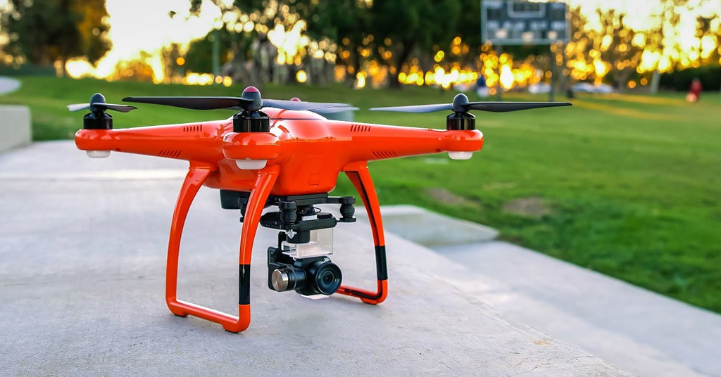 полеты дронов