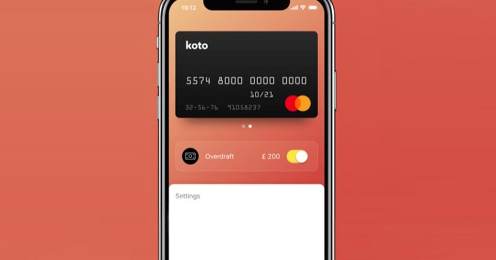 мобильный банк Koto