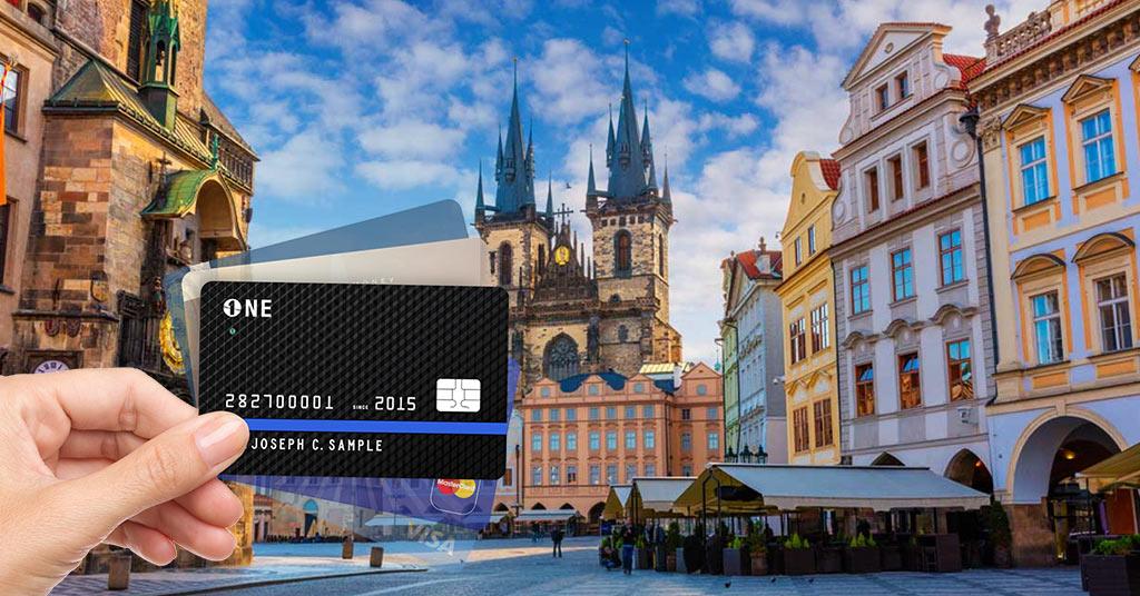 Оплата картой в Праге
