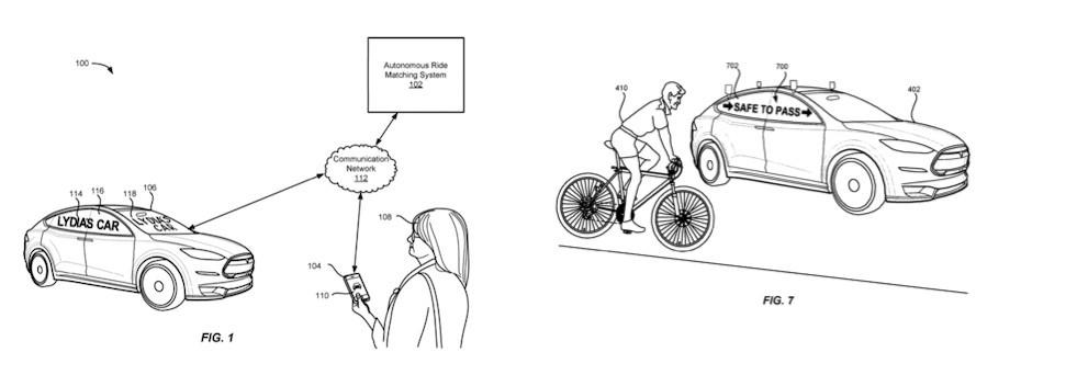 патент Lyft
