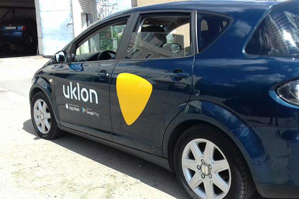 Мобильное приложение такси Уклон в Украине