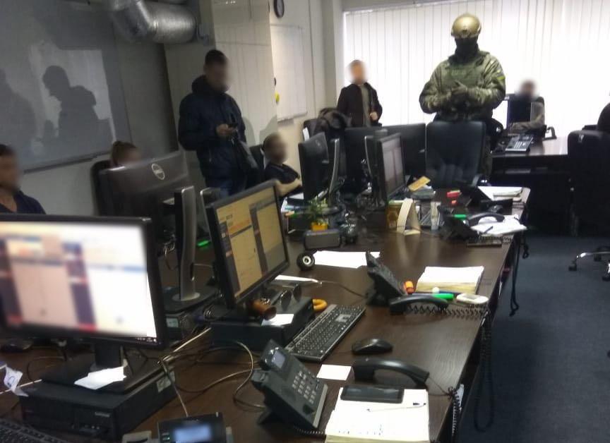 обыск в офисе