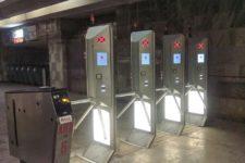 Новые турникеты в метро Киева перестали работать: в чем причина