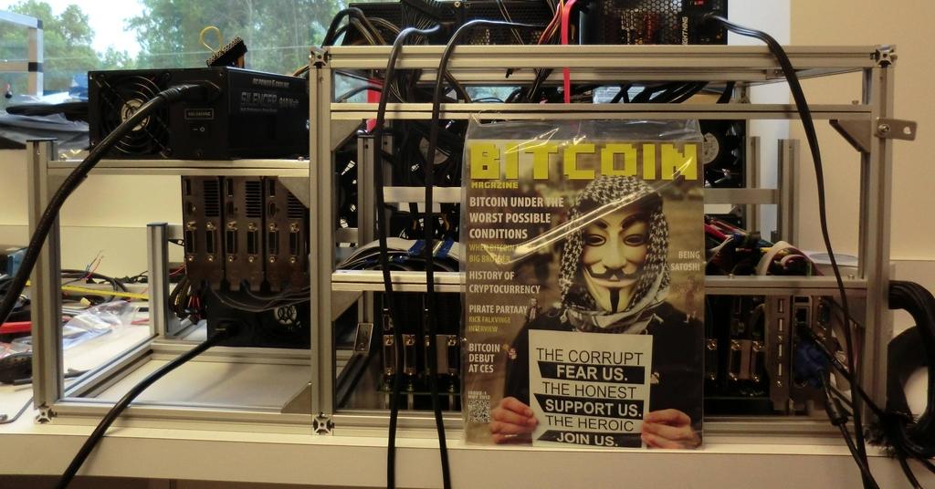 Bitcoin Magazine бутерин