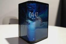 Представлен первый в мире смартфон с гибким экраном