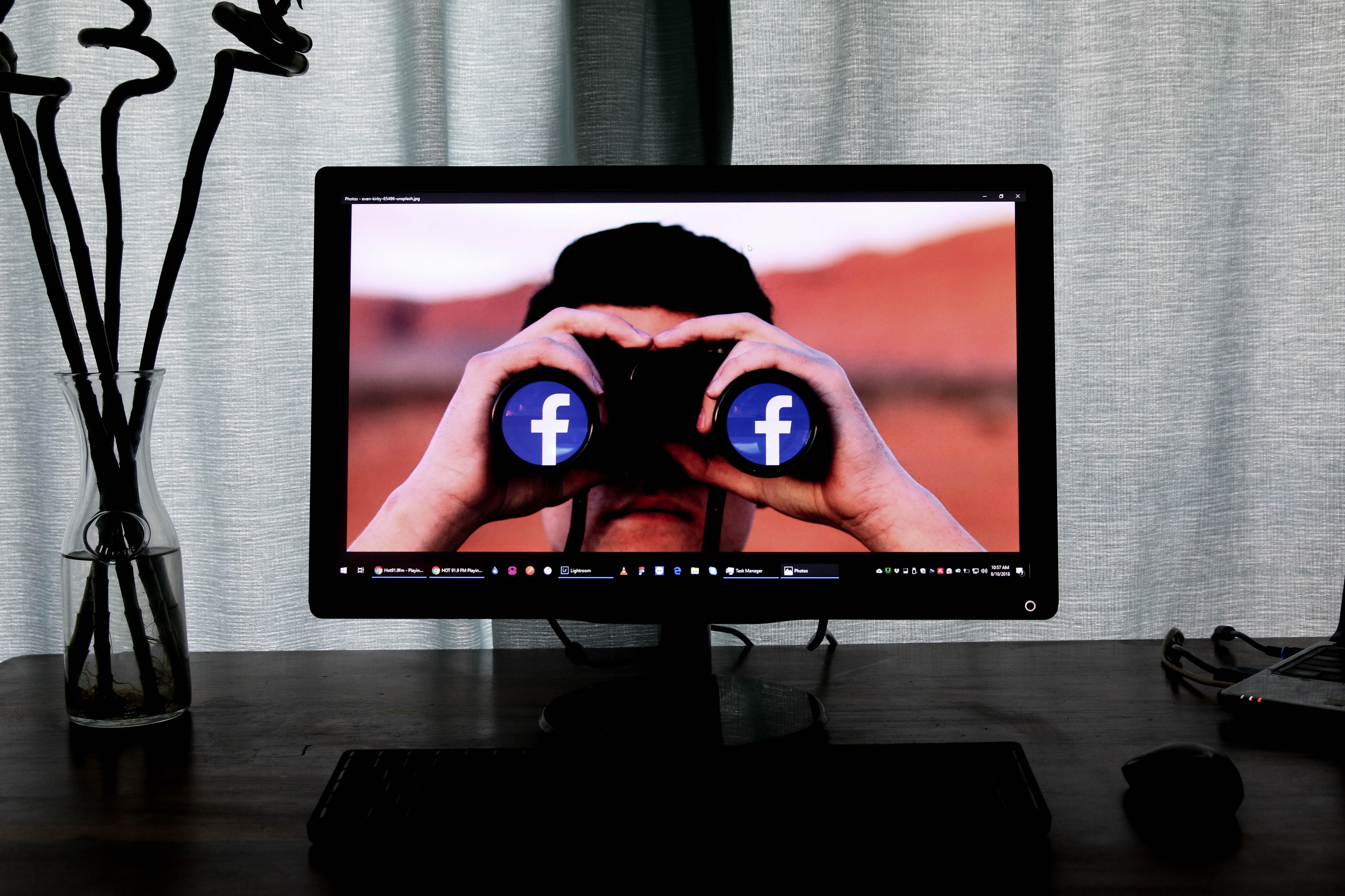распознавание лиц Facebook