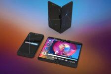 LG показала свой вариант складного смартфона (фото)