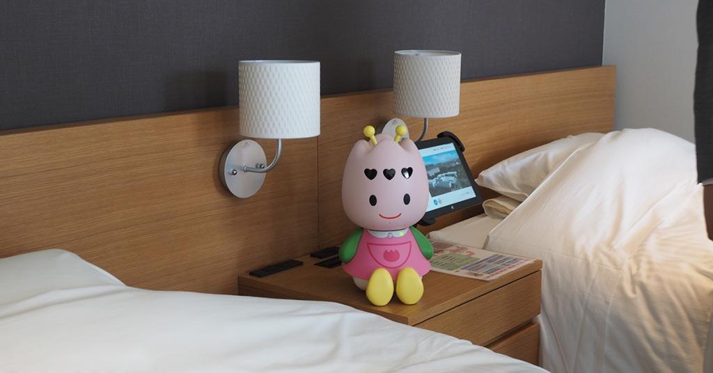 роботы в отелях