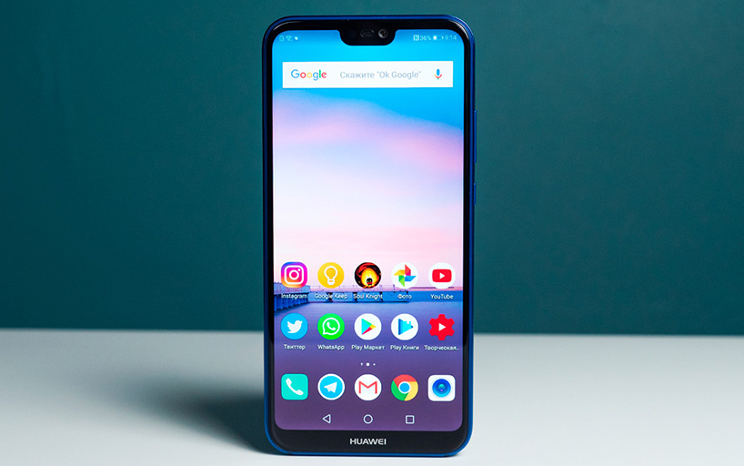 смартфоны Huawei с NFC