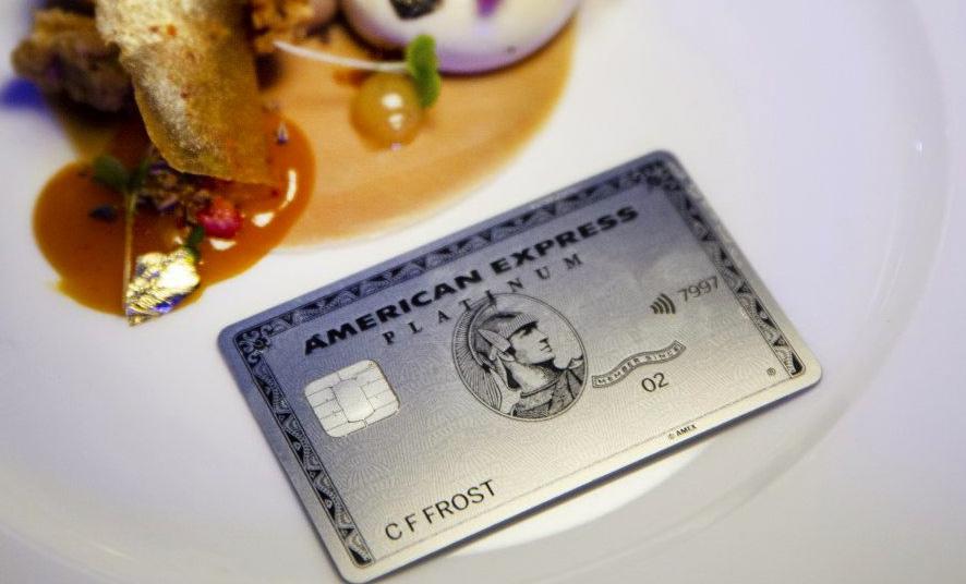 металлическая карта American Express