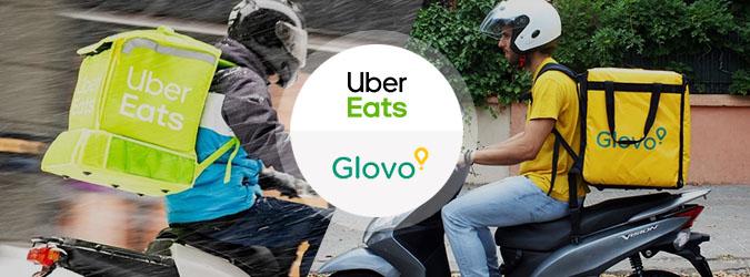 Glovo или Uber Eats: тест-драйв доставки еды в Киеве