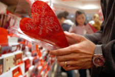 Индекс любви: что покупают украинцы ко Дню святого Валентина