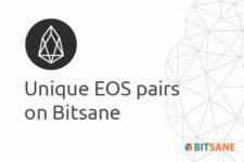 Уникальные валютные пары с EOS теперь доступны для торговли