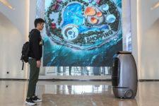 Роботы и распознавание лиц: в Китае открыли умный отель (фото, видео)
