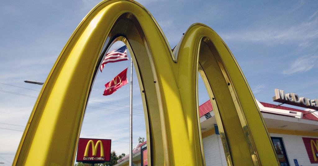 приложение McDonald's