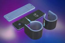 Samsung выпустит инновационный смартфон-браслет