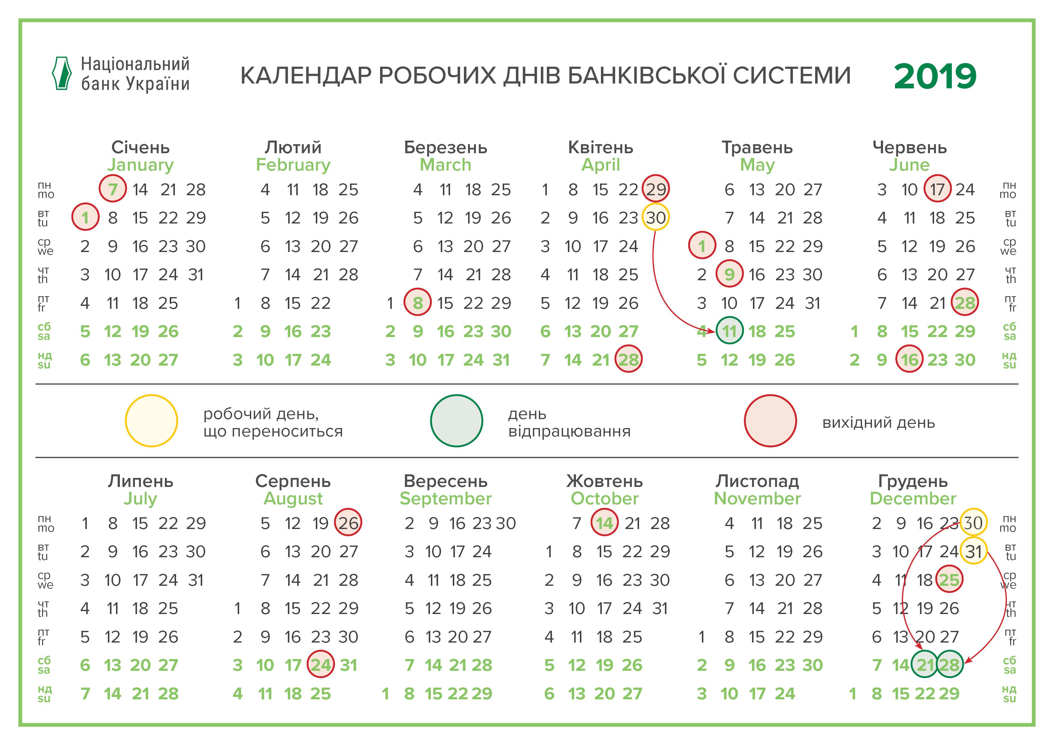 график работы банков