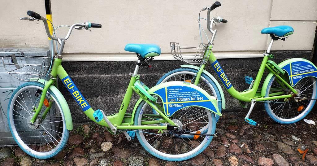 аренда велосипедов стокгольм