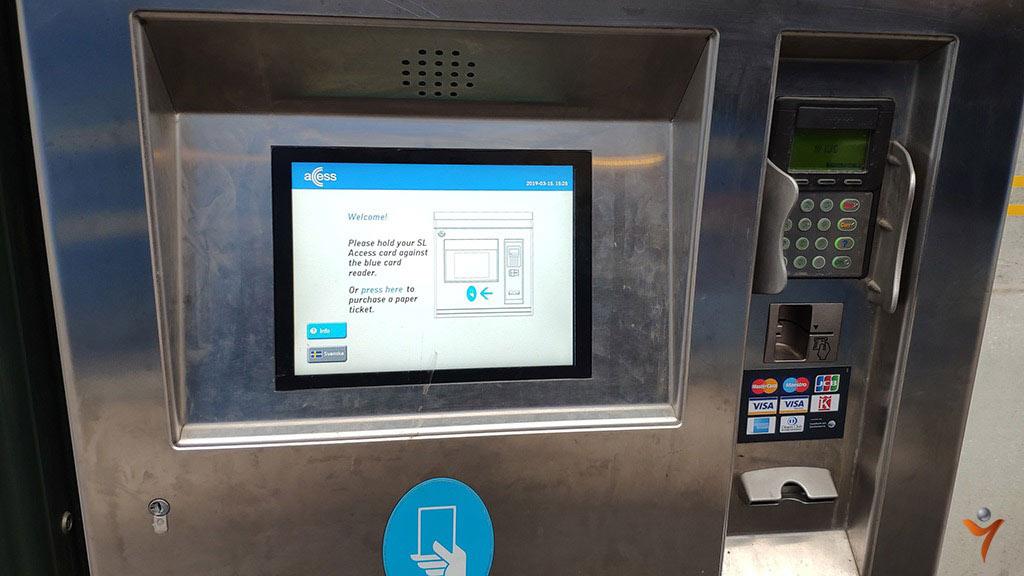 купить билет в метро стокгольм