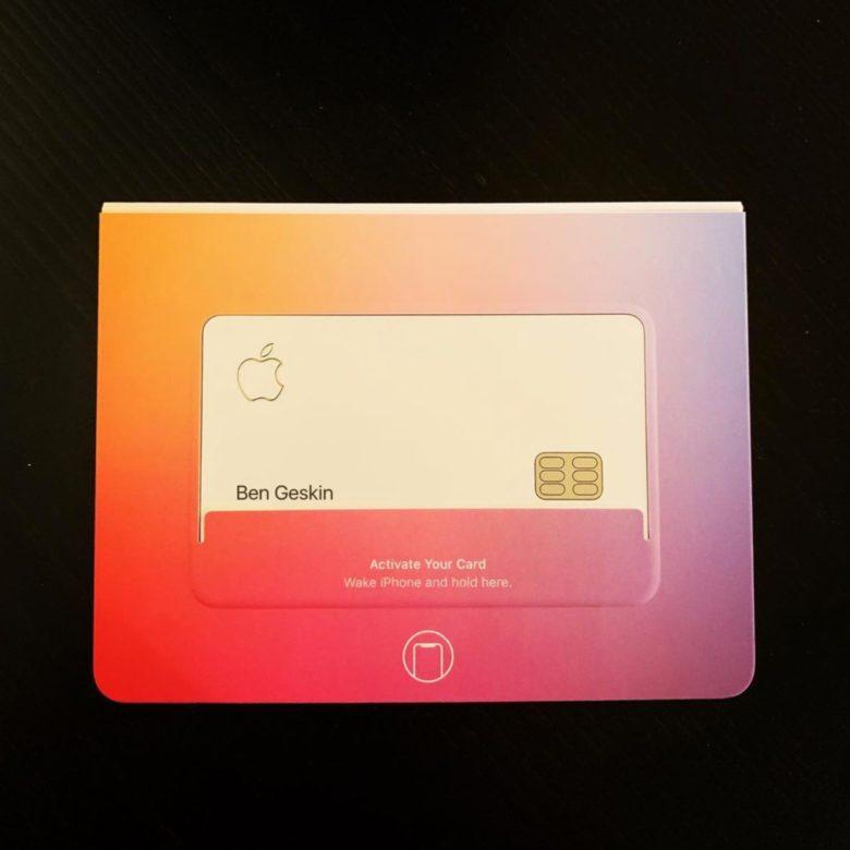 кредитка Apple