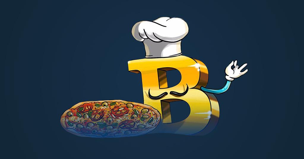 пицца за биткоины