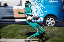 Ford будет использовать роботов-курьеров