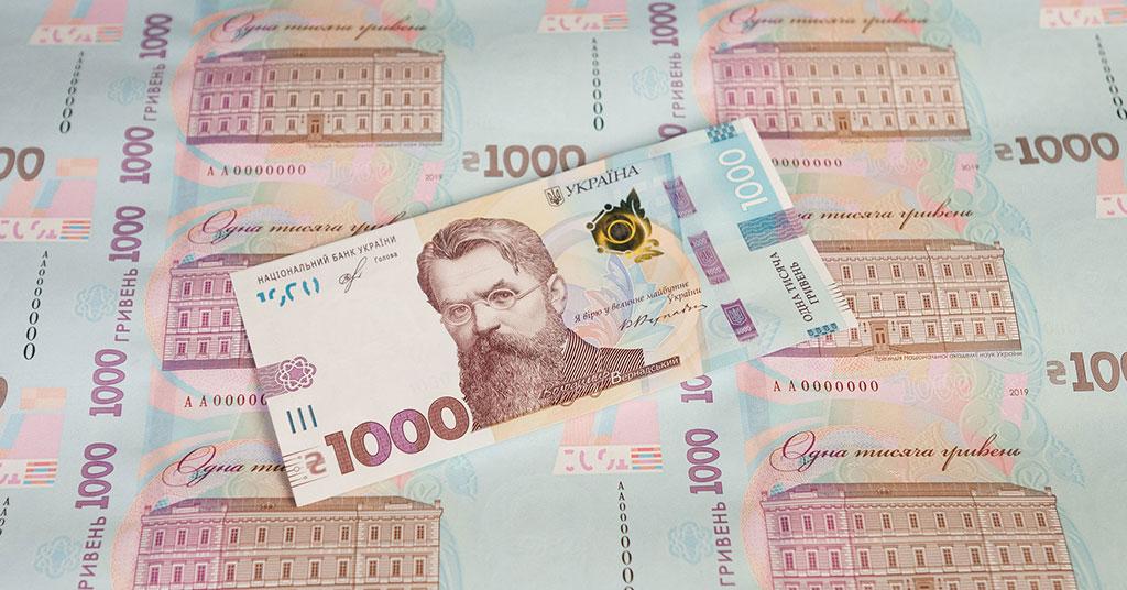 банкнота в 1000