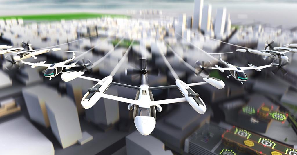 летающие такси Uber