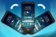 Samsung запатентовал уникальный дизайн смартфонов
