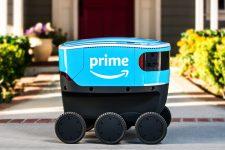 Amazon запустила доставку товаров при помощи роботов-курьеров