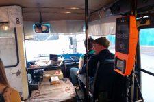 В киевских маршрутках установили терминалы для оплаты картой