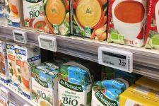 Крупная европейская сеть супермаркетов внедряет ценники с NFC