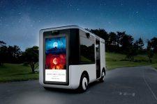 Sony разработал беспилотный автомобиль с дисплеями вместо окон