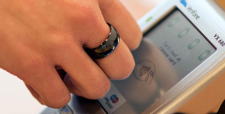 кольцо с NFC