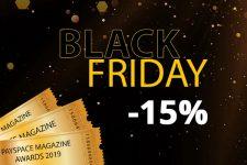 Black Friday: билеты на Церемонию награждения PSM Awards 2019 со скидкой!