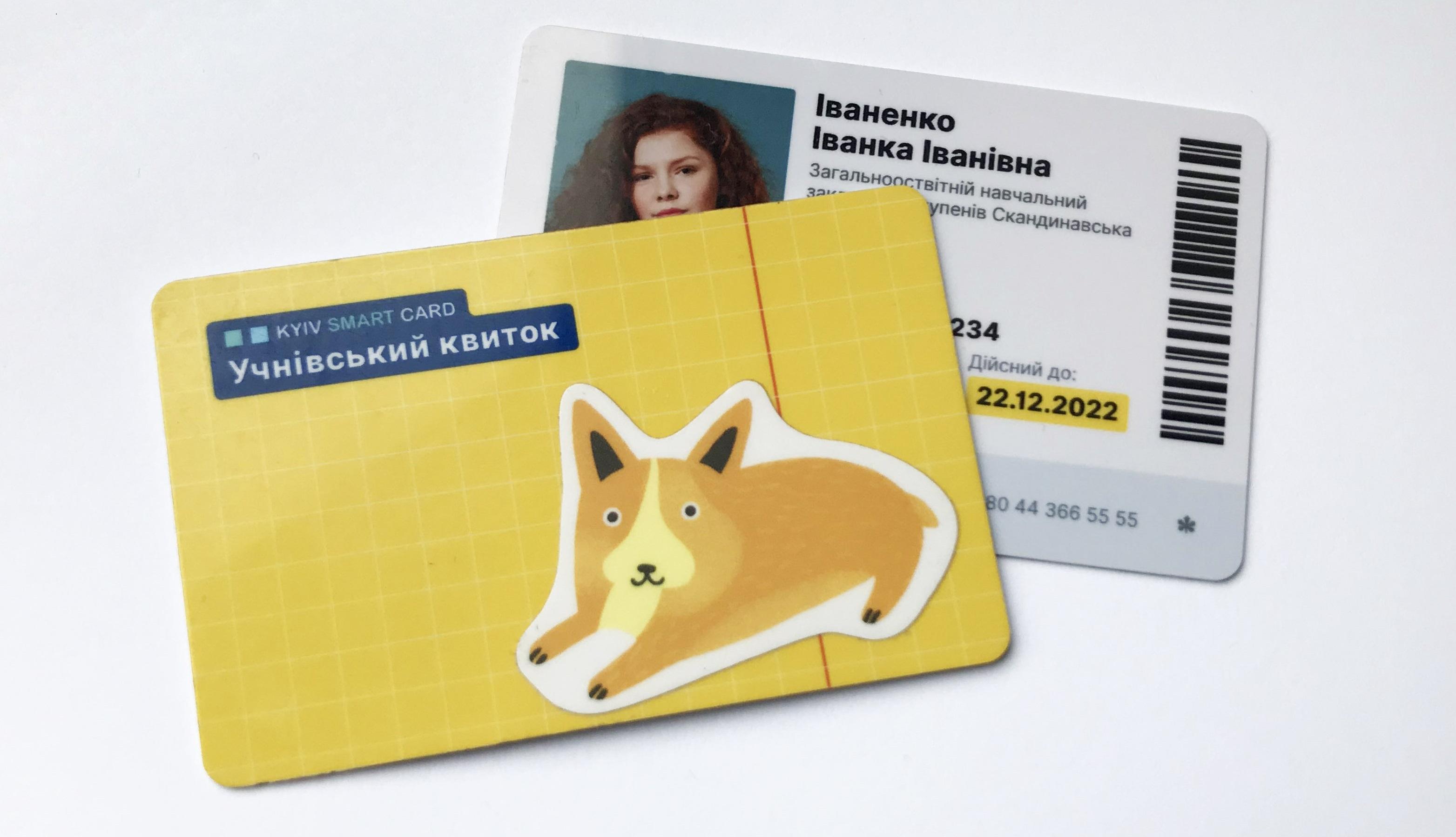 Электронный ученический билет в Киеве