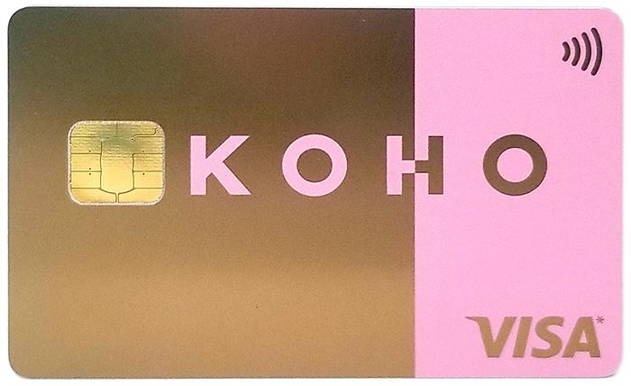 металлическая карта Koho