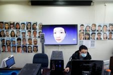 В Китае разработали технологию идентификации лиц в масках