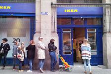 IKEA столкнулась с первыми проблемами на украинском рынке: прием новых заказов ограничен
