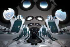 Космический туризм: Virgin Galactic показала интерьер космоплана