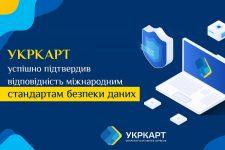 УКРКАРТ подтвердил соответствие международным стандартам безопасности индустрии платежей