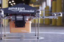 """Amazon получил """"зеленый свет"""" на доставку товаров дронами"""