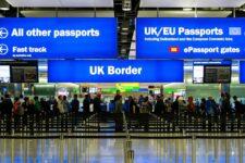 Англия изменила правила въезда в страну: они вступают в силу 15 января
