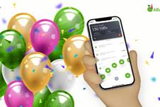 А-Банк святкує день народження свого додатку і дарує подарунки